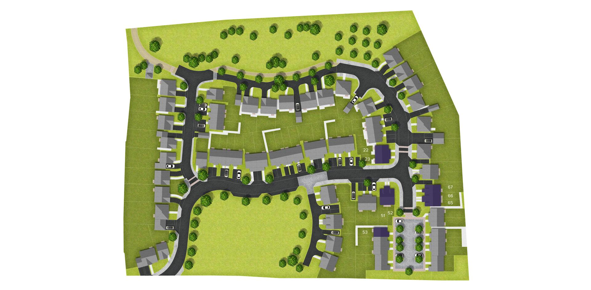 Abbeyvale_Bishops Hull, Taunton_sitemap_B.JPG
